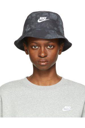 Nike Black Sportswear Tie-Dye Bucket Hat