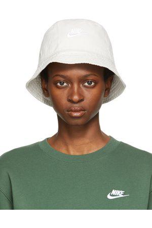 Nike Women Hats - White Sportswear Bucket Hat