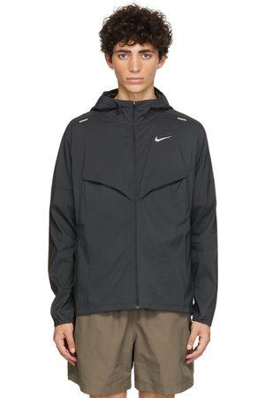Nike Men Jackets - Black Windrunner Jacket
