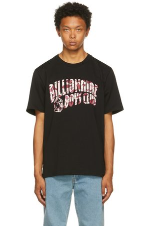 Billionaire Boys Club & Pink Camo Arch Logo T-Shirt