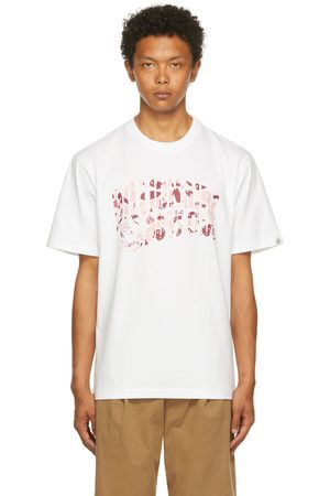 Billionaire Boys Club Men T-shirts - & Pink Camo Arch Logo T-Shirt