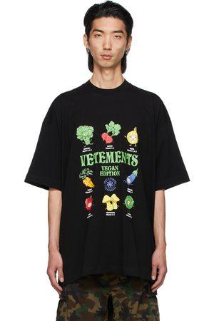 Vetements Men T-shirts - Vegan Logo T-Shirt