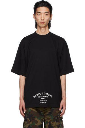 Vetements Men T-shirts - Maison De Couture T-Shirt
