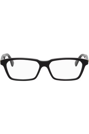 Bottega Veneta Black Cat-Eye Glasses