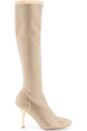 Bottega Veneta Women Thigh High Boots - Women's Wardrobe 02 Sparkle Tall Boots - - Size 9