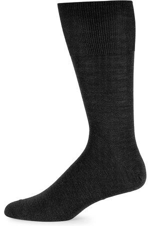 Falke Men Socks - Men's Airport Socks - Anthracite Melange - Size Medium