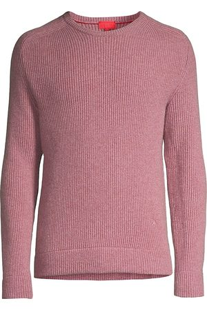 ISAIA Men Sweatshirts - Men's Crewneck Cashmere Sweater - - Size Small