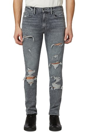 Joes Jeans Men Skinny - Men's Asher Distressed Skinny Jeans - Grey - Size 32