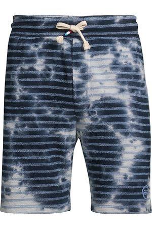 SOL ANGELES Men's Catalina Cloud Striped Shorts - Cloud - Size Medium