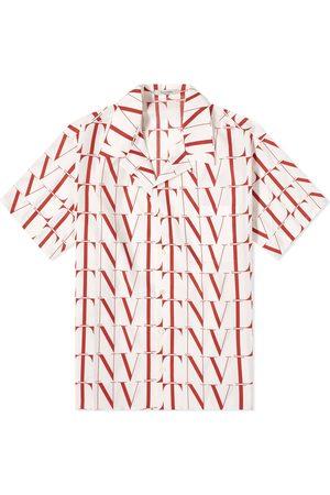 VALENTINO Men Shirts - VLTN All Over Vacation Shirt