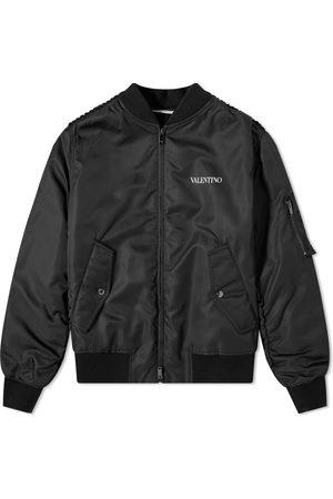 VALENTINO Men Bomber Jackets - Nylon Bomber Jacket