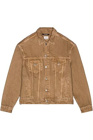 KSUBI Men Denim Jackets - Oh G Jacket Dunez in Tan