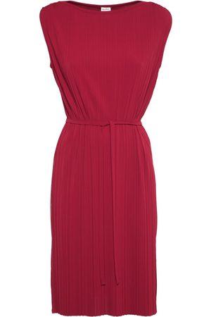 Max Mara Women Casual Dresses - Pleated Jersey Midi Tunic W/ Side Slits