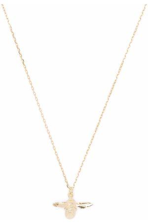 Alex Monroe Women Necklaces - 18kt yellow Teeny Tiny Bumblebee necklace