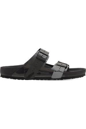 Rick Owens Men Sandals - Birkenstock Iridiscent Leather Sandals