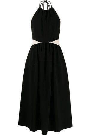 Proenza Schouler Women Halterneck Dresses - Panelled halterneck dress