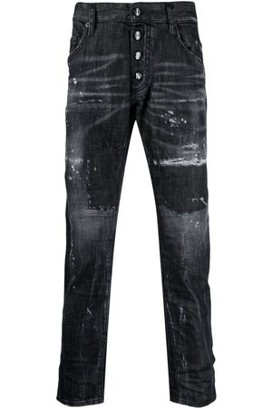 Dsquared2 Men Skinny - Icon distressed-effect skinny jeans