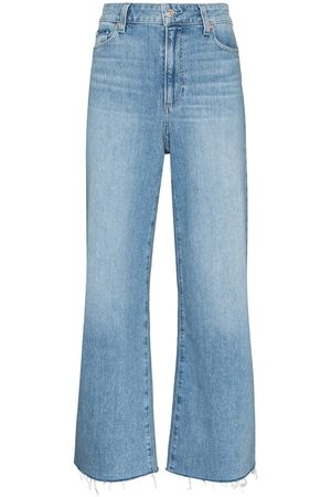 PAIGE Anessa cropped flared jeans