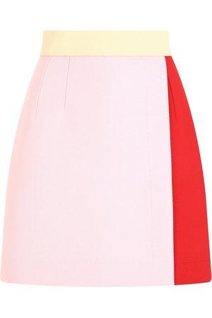 Dolce & Gabbana Women Skirts - Colour-block high-waisted skirt