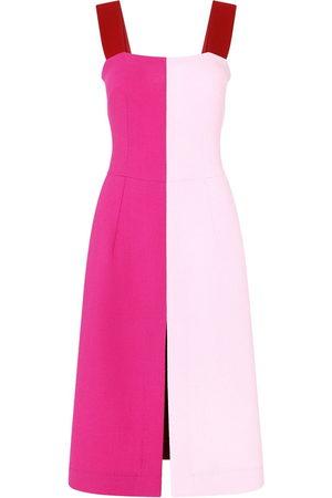 Dolce & Gabbana Colour-block slit-detail dress