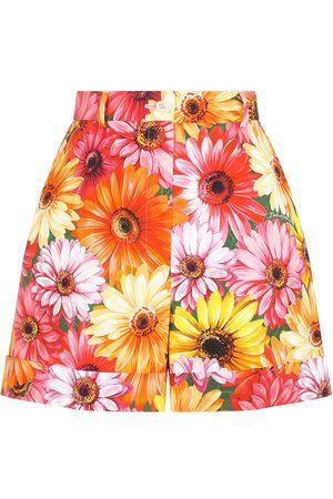 Dolce & Gabbana Women Shorts - Floral pattern shorts