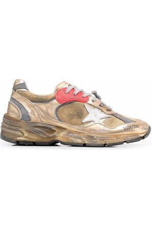 Golden Goose Running Sole distressed-effect sneakers