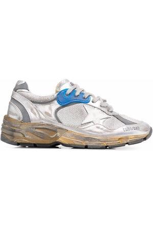 Golden Goose Women Running - Running Sole distressed-effect sneakers - Grey