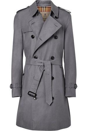 Burberry Chelsea Heritage mid-length trench coat - Grey