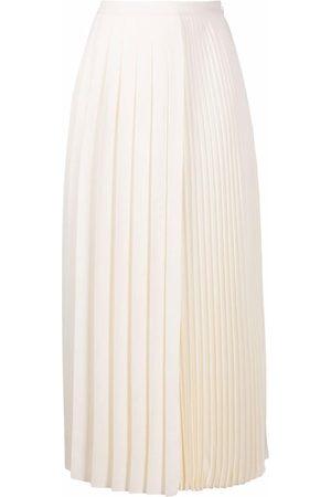 VALENTINO Straight pleated skirt