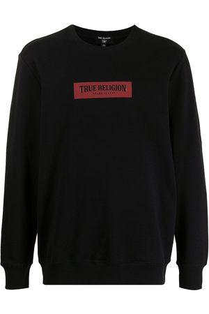 True Religion Cotton box-logo sweatshirt