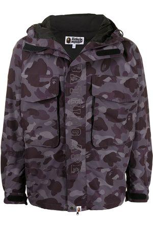 A Bathing Ape Camouflage-print hooded jacket