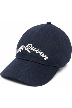 Alexander McQueen Men Caps - Embroidered-logo baseball cap