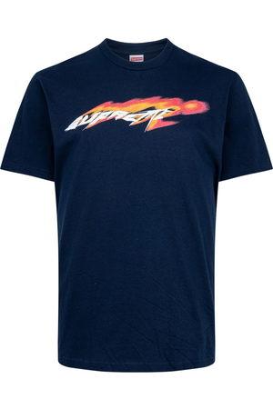 Supreme Men T-shirts - Wind logo-print T-shirt