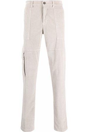 ELEVENTY Corduroy cargo trousers - Neutrals