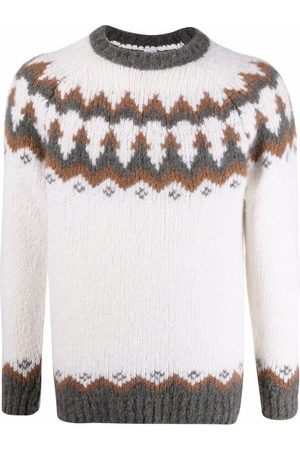 ELEVENTY Fairisle knitted jumper