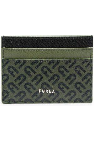 Furla Monogram-print leather cardholder