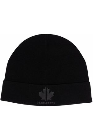 Dsquared2 TEEN logo embroidered beanie hat