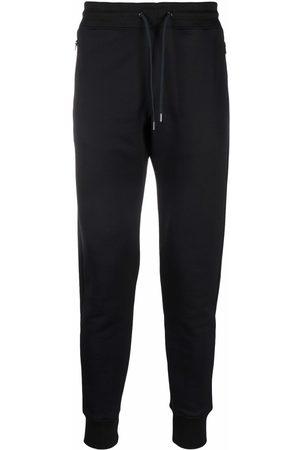 Paul Smith Men Sweatpants - Tape-trim drawstring joggers