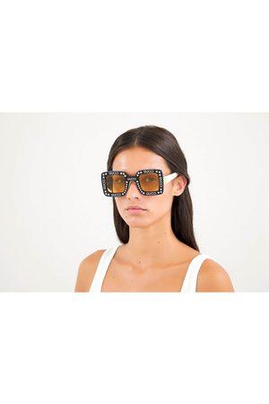 Gucci Women's Square Frame Acetate Sunglasses