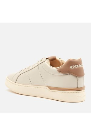 Coach Women's ADB Leather/Suede Cupsole Trainers