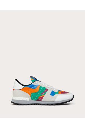 VALENTINO GARAVANI Camouflage Rockrunner Sneaker Man / 100% Pelle Di Vitello - Bos Taurus 41