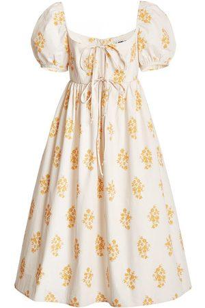 Ciao Lucia Women Printed Dresses - Alessia Printed Poplin Dress