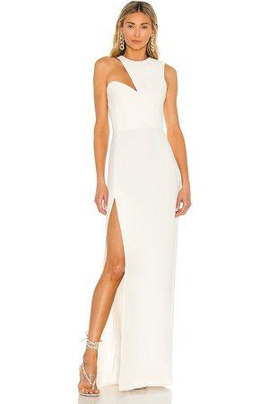 Amanda Uprichard X REVOLVE Gilda Gown in Ivory.