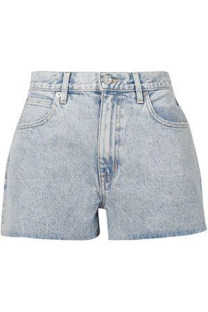 SLVRLAKE Women Shorts - Farrah Short Time Worn Cut-off Denim Shorts