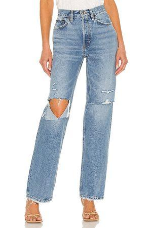 RE/DONE Originals 90s Comfy Jean in Blue.