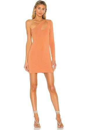 Lovers + Friends Johnson Mini Dress in Tan.