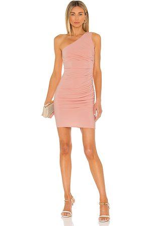 Michael Costello X REVOLVE Kimberly Mini Dress in Blush.