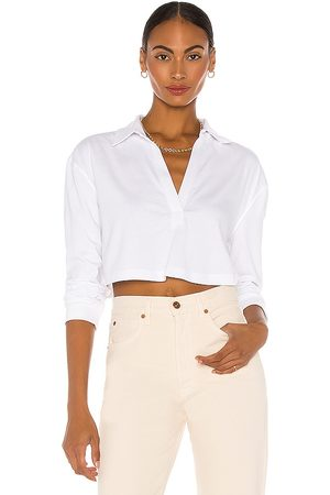 L'Academie LS Cropped Polo in .