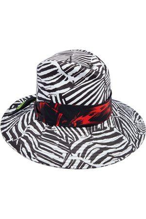Missoni Woman Silk-trimmed Zebra-print Cotton Bucket Hat Animal Print Size M