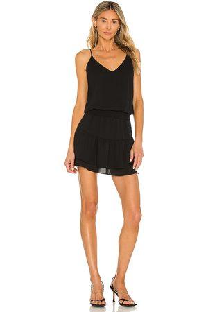 krisa Smocked Cami Mini Dress in .